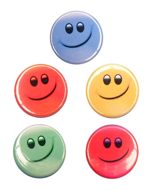 smily buttons